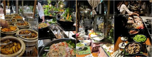 buffet spread for buka puasa