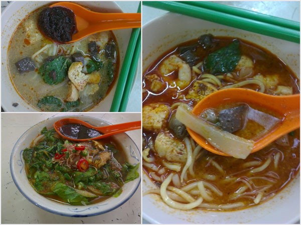 curry mee and laksa were our second dishes