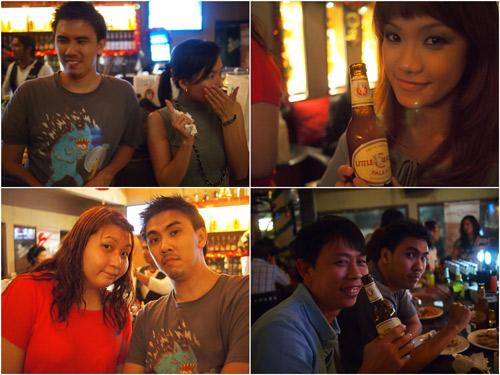 Michael, FA, Haze, Suan, and myself