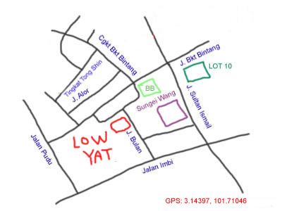 map to lowyat plaza