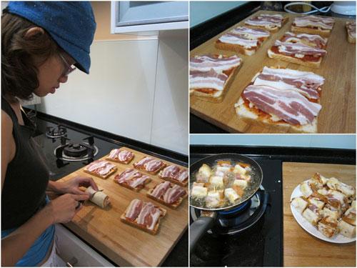 mimi bacon pizza by Haze