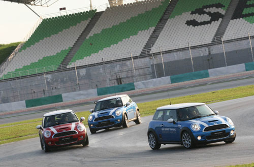 Mini Cooper S at Sepang International Circuit