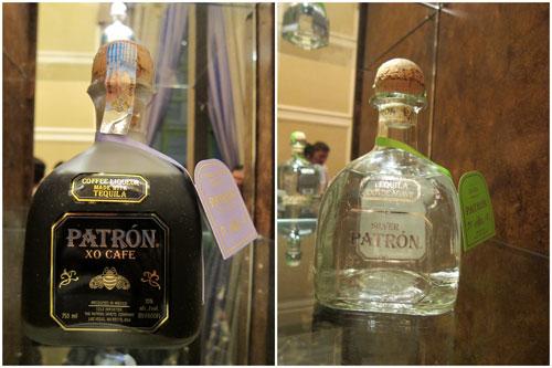 Patrón XO Café and and Patrón Silver