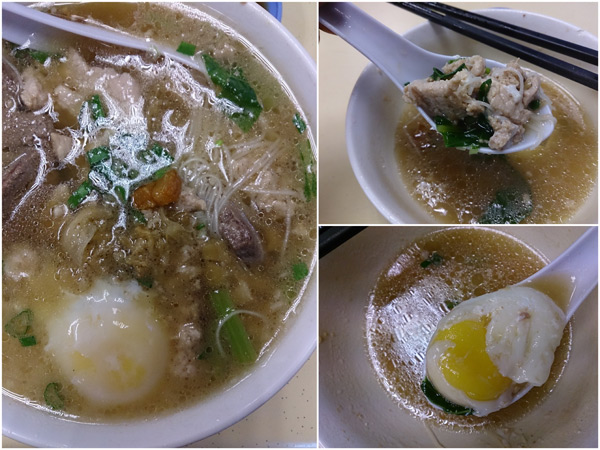 glorious pork noodle, I love to add the poached egg