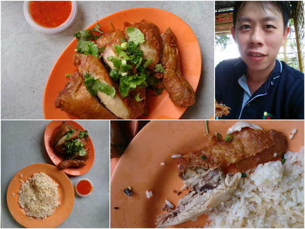 I always ask for whole leg and thigh, love the chili paste too