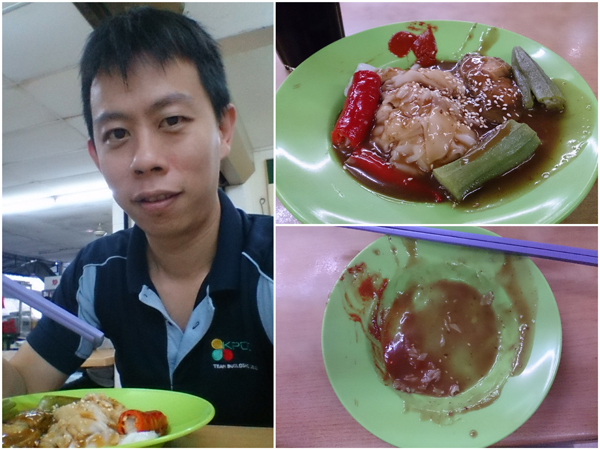 the chee cheong fun with yong tau foo was pretty good actually