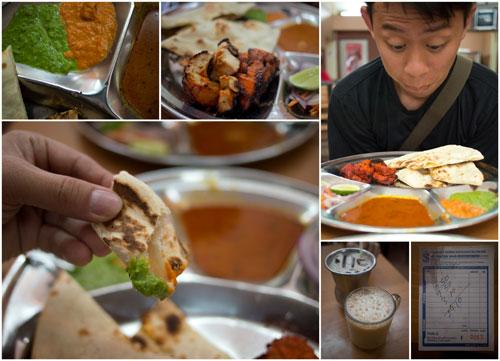 I had chicken tikka masala, fantastic