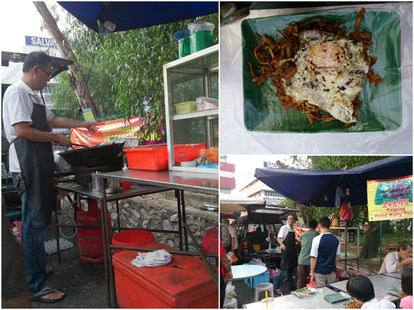 the char kuih teow stall, opposite McDonald's at SS2