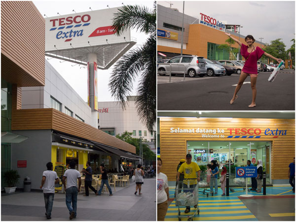 Tesco Extra Mutiara Damansara - with new look