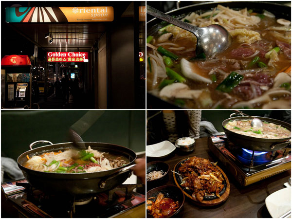 Korean food? you're covered at Oriental Spoon