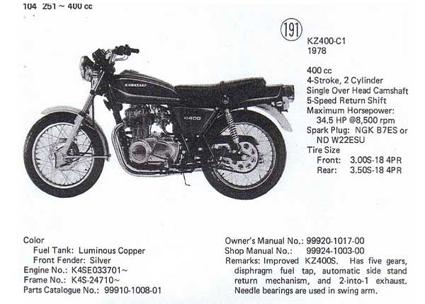 Kz400 Wiring Diagram - Best Place to Find Wiring and Datasheet Resources