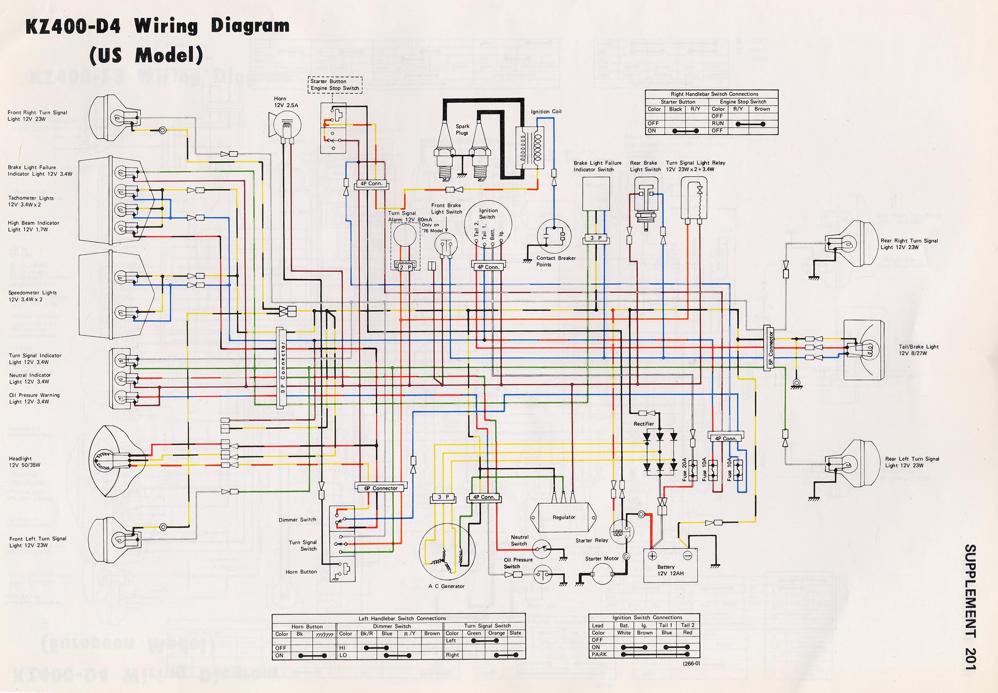 bobber kz650 wiring diagram