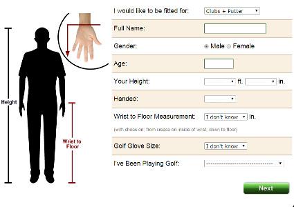 how to size golf clubs - Heartimpulsar
