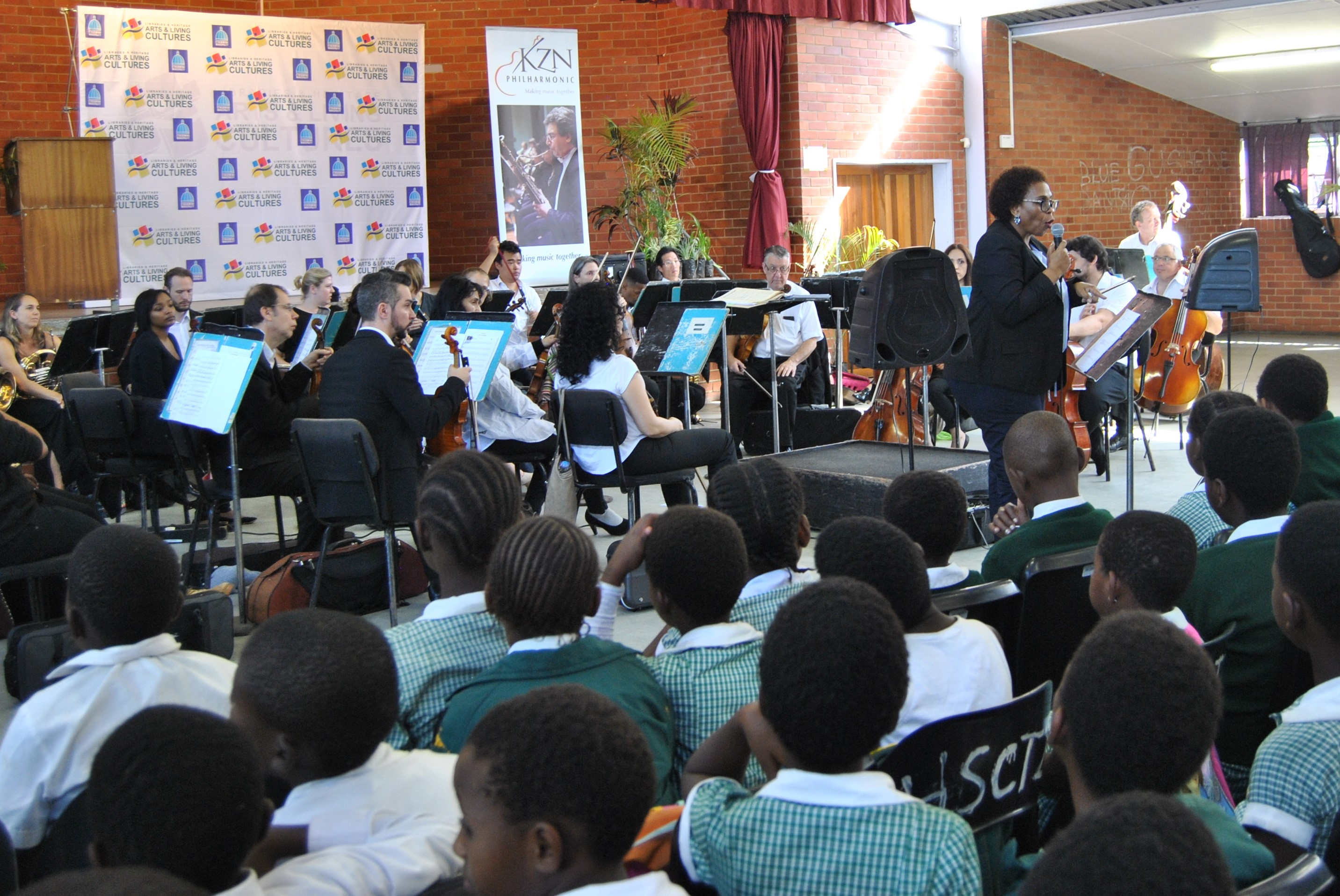 Arte Concert Jobs Kzn Philharmonic Orchestra Mbongweni Primary School