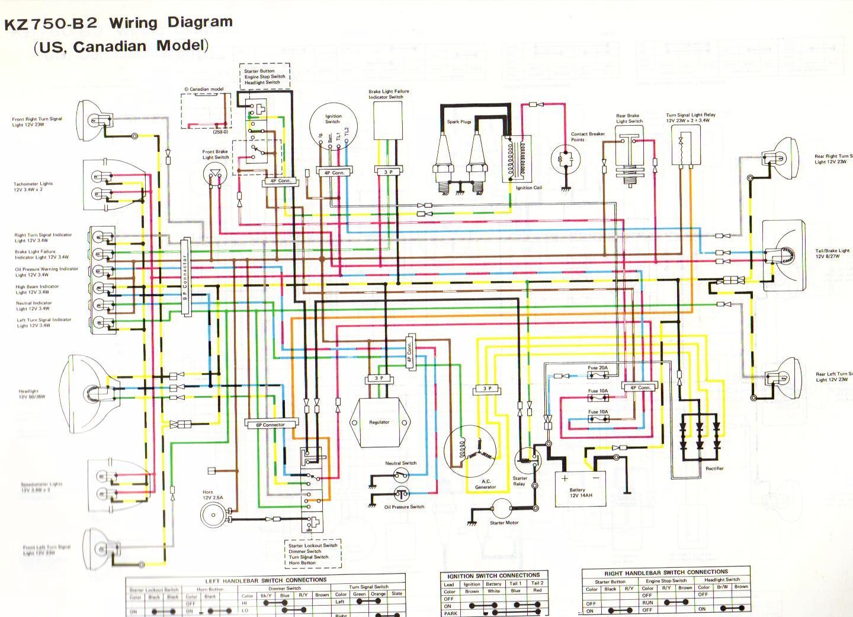kawasaki k z 900 wiring harness