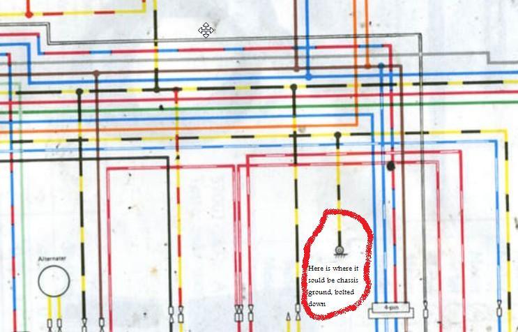 K Z 750 Wiring Colors - Wiring Diagram Progresif