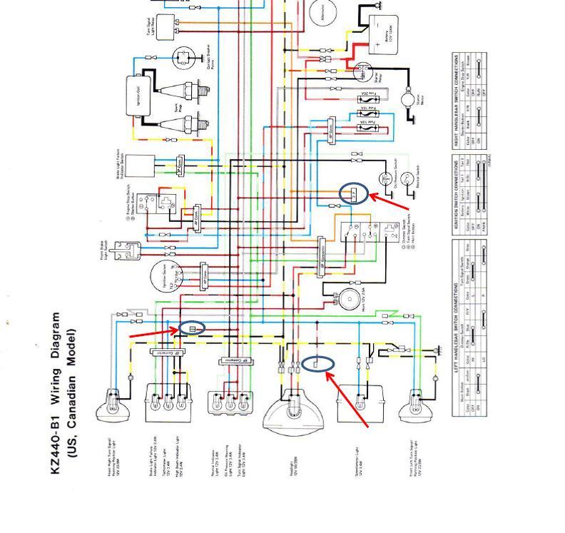 1982 yamaha maxim xj1100 wiring diagram
