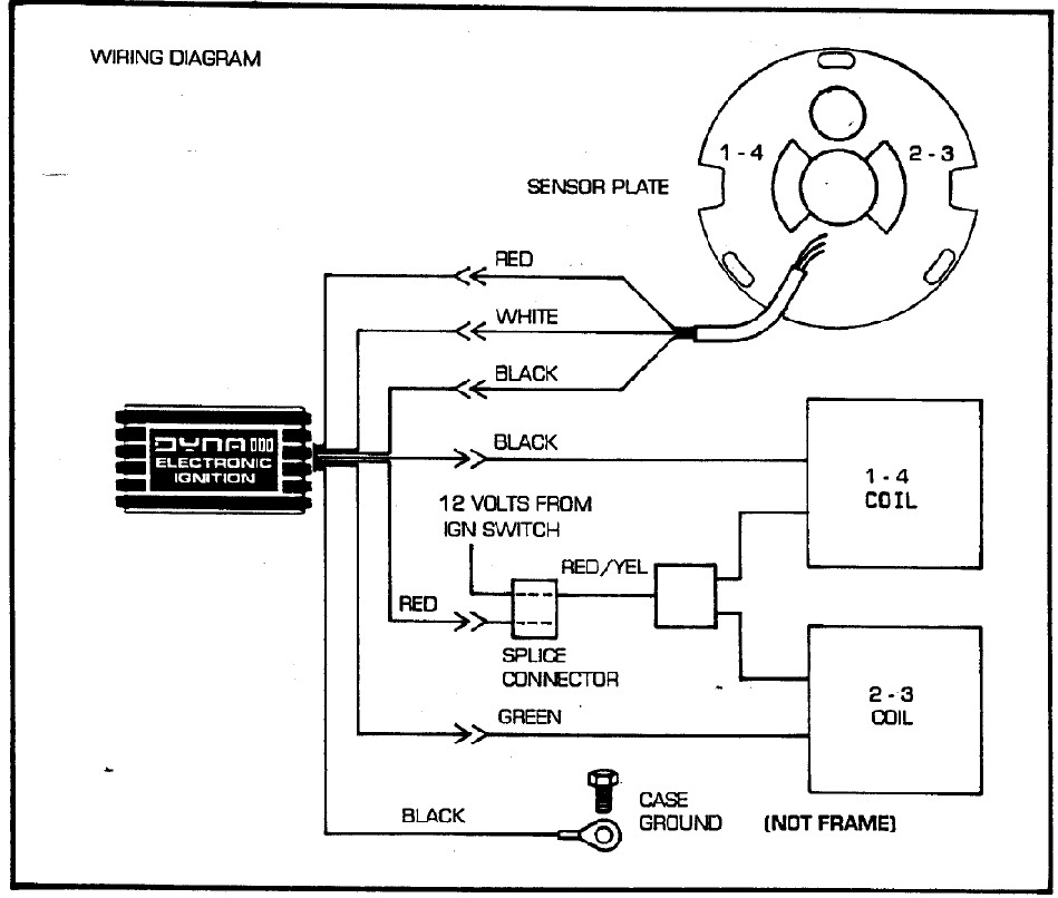 Dyna Single Fire Wiring Diagram circuit diagram template