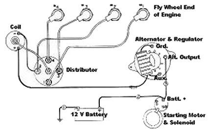 atomic 4 alternator wiring diagram
