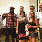 Quelques-uns des artistes participants au lancement de saison du Labo.