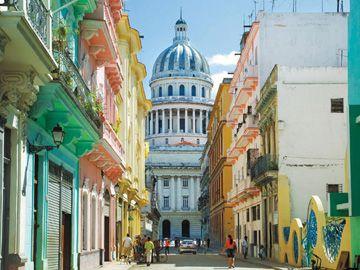 Paseo de Martí à La Havane.