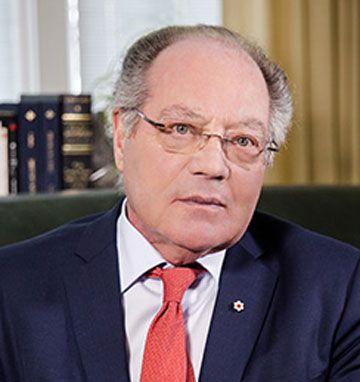 Michel Bastarache, juge à la retraite de la Cour suprême du Canada,