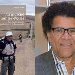 Gabriel Osson avec son dernier ouvrage au récent Salon du livre de Toronto. Un lancement a aussi eu lieu à la nouvelle librairie La Mosaïque à l'Alliance française.