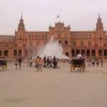 Place d'Espagne à Seville.