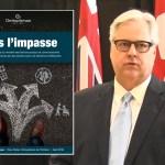 Le protecteur du citoyen de l'Ontario, Paul Dubé, et son rapport sur les situations de crise impliquant des personnes ayant une déficience intellectuelle.