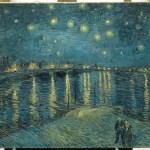 """Vincent Van Gogh, """"La nuit étoilée sur le Rhône à Arles"""",  1888, huile sur toile, 73 x 92 cm Collection du musée d'Orsay, Paris (France/Bridgeman Images)."""