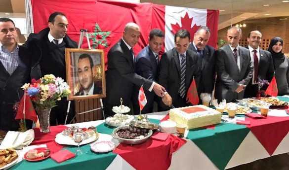 Fête des Marocains à l'hôtel de ville de North York.