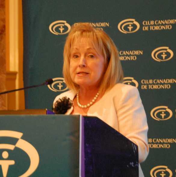 L'ex-ministre Madeleine Meilleur.