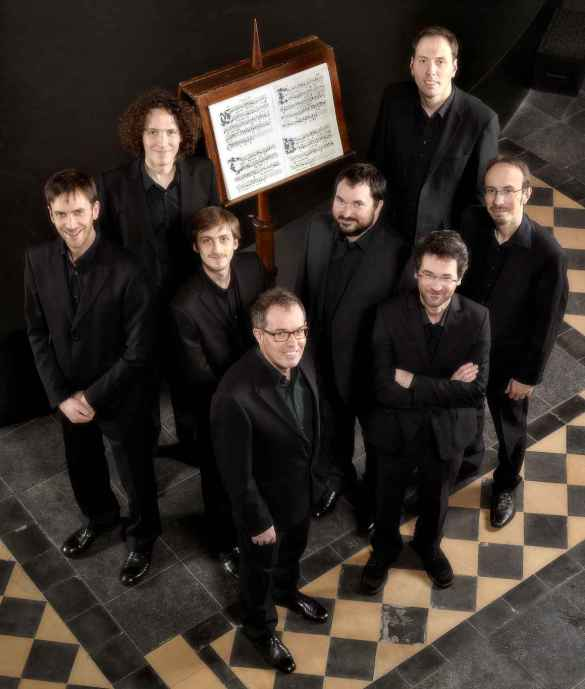 L'ensemble vocal Cappella Pratensis.
