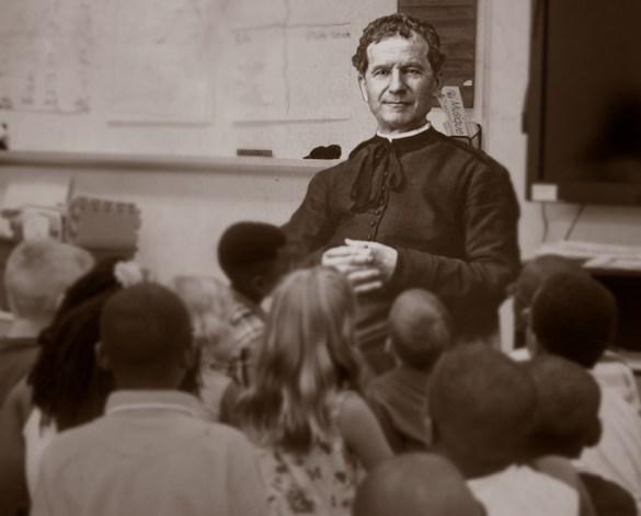 Saint Jean Bosco.