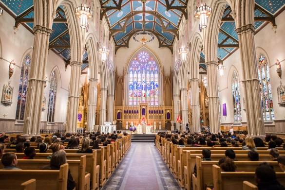 La cathédrale St. Michael's.
