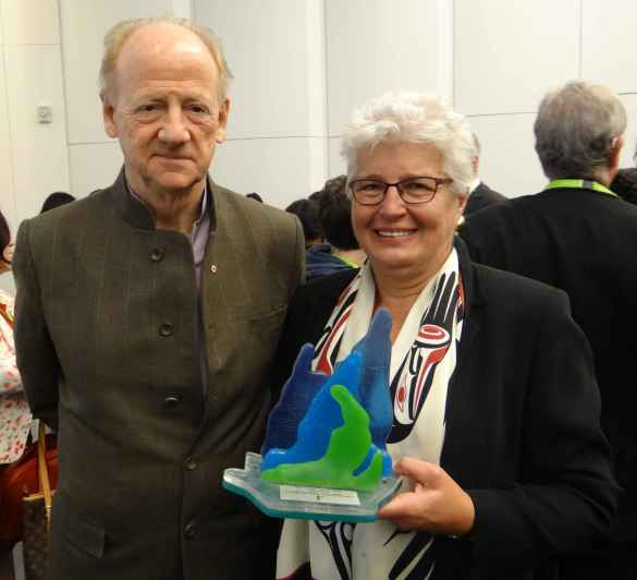 John Ralston Saul et Barbara Hall