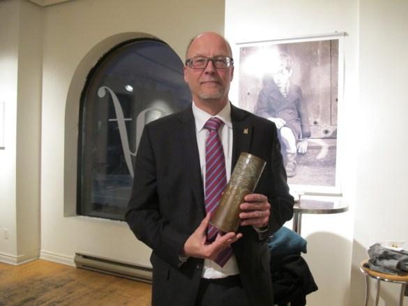 Larry Ostola, directeur des services des musées et du patrimoine de Toronto.