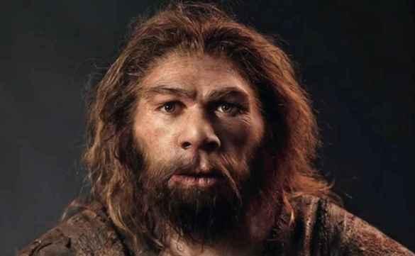 """Reconstitution d'un Néandertalien  (Capture d'écran de la vidéo """"Néandertal et ses secrets"""" par ARTE - Youtube http://bit.ly/2pDfMGr)"""