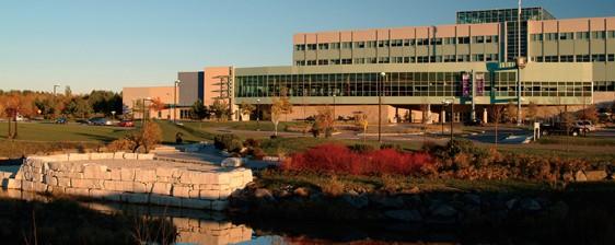 Le campus du Collège Boréal à Sudbury.