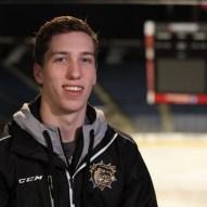 William Bitten, hockeyeur de Hamilton. (Photo: Radio-Canada/Jean-François Benoit)