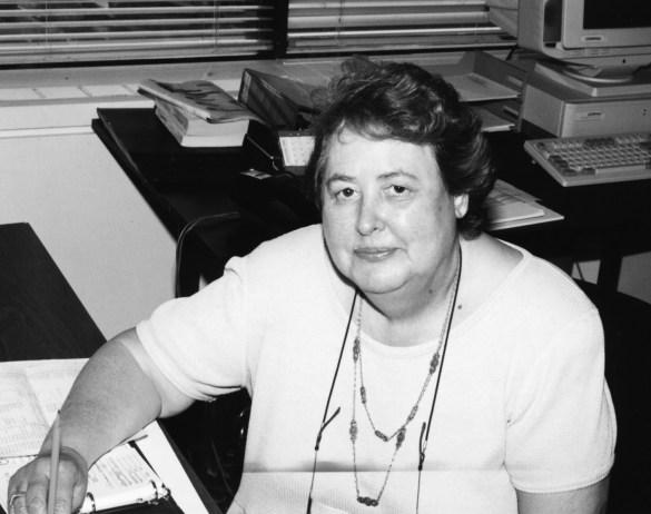Micheline St-Cyr au tournant de 1980. (Photo: archives de L'Express)