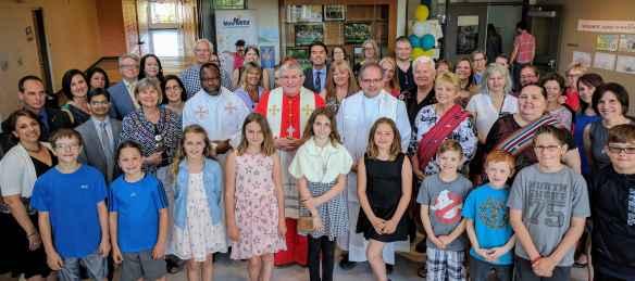 C'était la fête à l'école Notre-Dame-de-la-Huronie le 9 juin.