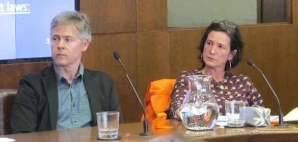 Patrick Simon et Valérie Amiraux.