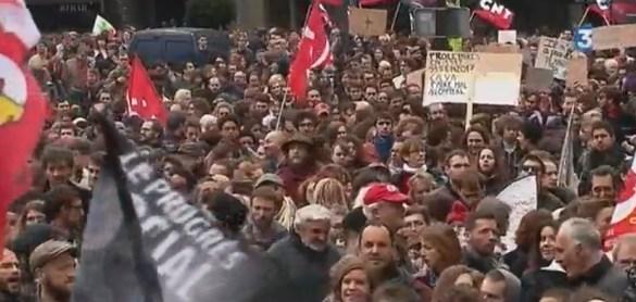 La réforme des lois du travail est certaine de susciter son lot de manifestations dans les rues.