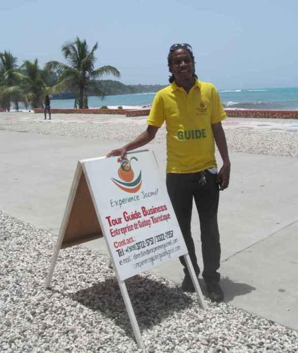 Markensy Hyacinthe, directeur-général d'Expérience Jacmel.