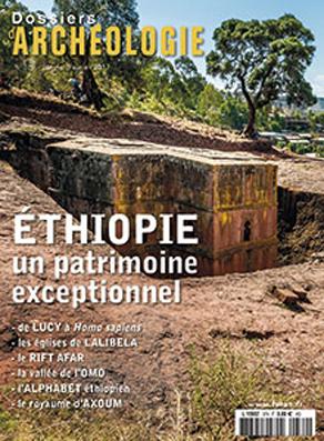 Dossier d'archéologie, Janvier/Février 2017, Éditions Faton, 80 p. Église de Lalibela creusée dans le roc.