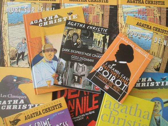 Agatha Christie est l'auteure la plus populaire après la Bible et Shakespeare, avec deux milliards de livres vendus.
