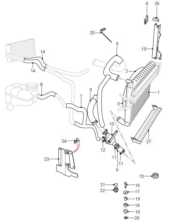 range rover v8 cooling system