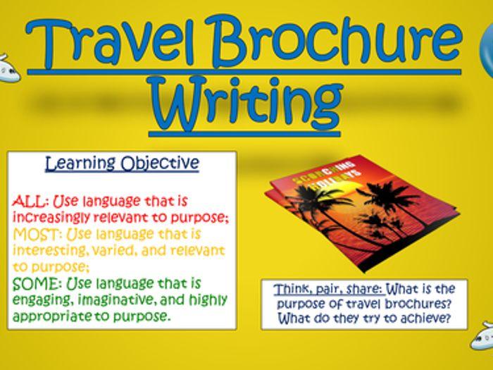 Travel Writing Big Bundle By Tandlguru Teaching