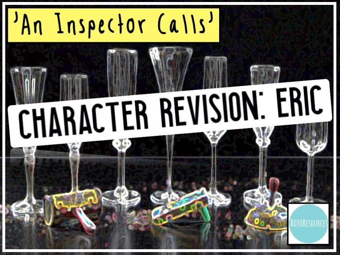 39an Inspector Calls39 Revision Eric Key Quotations And